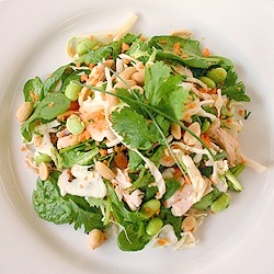 Turkey Thai Crunch Salad