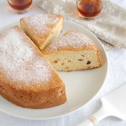 Almond Raisin Cake