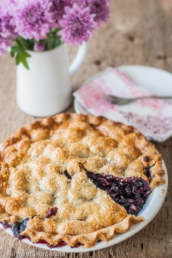 Black Raspberry and Cherry Pie Recipe