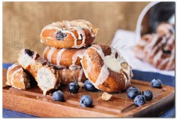Blueberry Pie Donuts Recipe