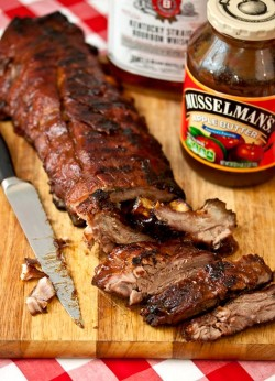 Bourbon and Brown Sugar Ribs Recipe