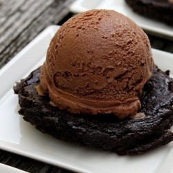 Brownies Batter Ice Cream