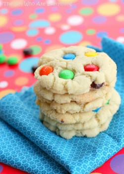Chewy MM Sugar Cookies