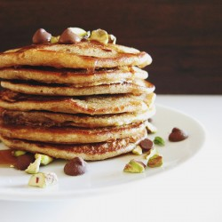 Chocolate Chip Espresso Pancakes Recipe
