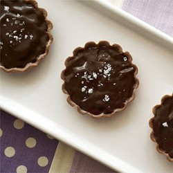 Chocolate Sea Salt Tartlets