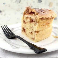 Cinnamon Nut Roll Coffee Cake Recipe
