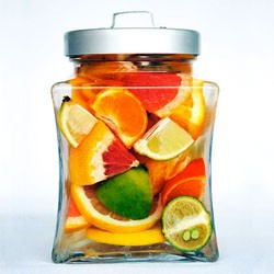 Citrus Ginger Liqueur with Vodka
