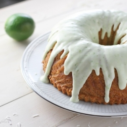 Coconut Lime Bundt Cake Recipe