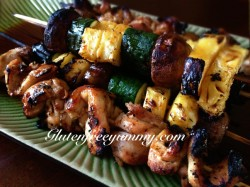 Coconut Mil Marinated Chicken Skewers Recipe