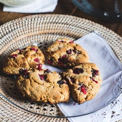 Cranberry Amaranth Scones Recipe