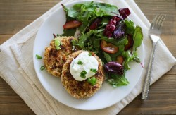 Crispy Cauliflower Cakes Recipe