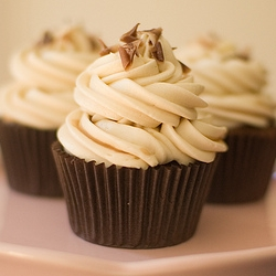 Earl Grey Tea Chocolate Cupcakes