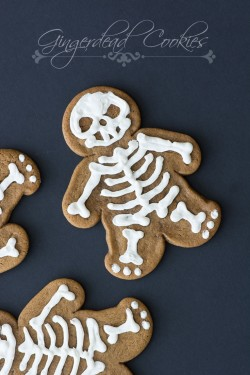 Gingerbread Skeleton Cookies Recipe