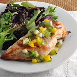 Grilled Chicken with Kiwi Salsa Recipe