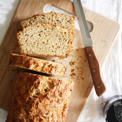 Gruyere-Rosemary Beer Bread