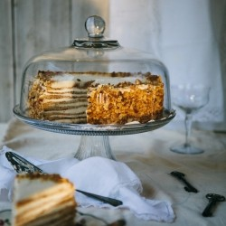Honey Whipped and Sour Cream Cake