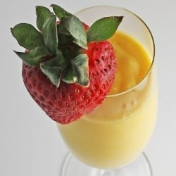Mango Banana Orange Juice Smoothie