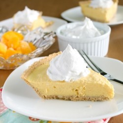 Mango Cream Pie Frozen Recipe