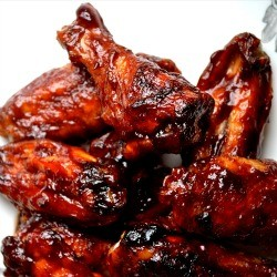 Oven Baked Sriracha and Beer BBQ wings