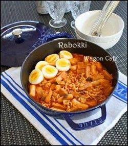 Rabokki Ramen and Ddukbooki Recipe