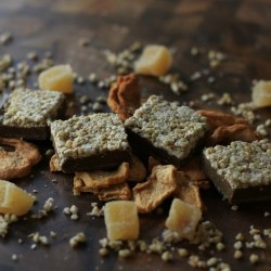 Raw Apple Gingerbread Squares Recipe
