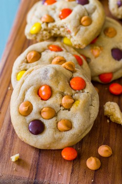 Reeses Pieces Butterscotch Cookies Recipe