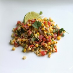 Roasted Corn Salad with Yogurt Dressing Recipe