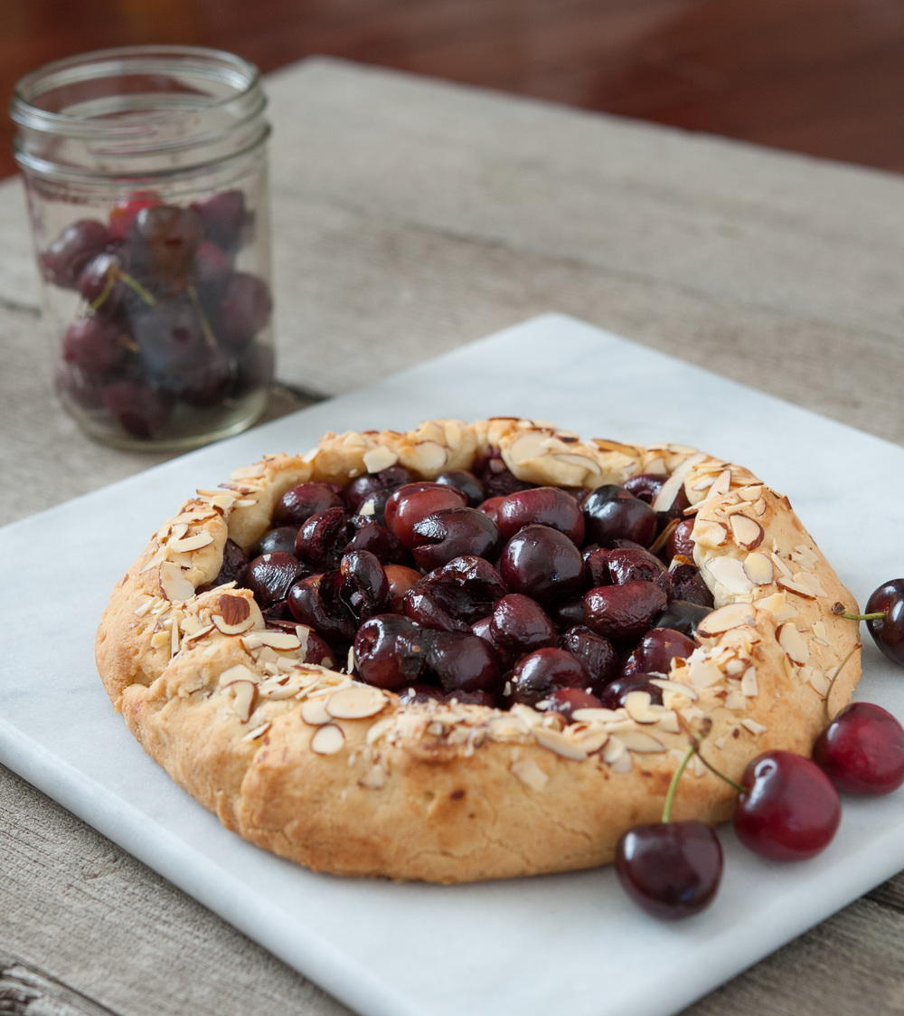 Rustic Cherry Galette Recipe