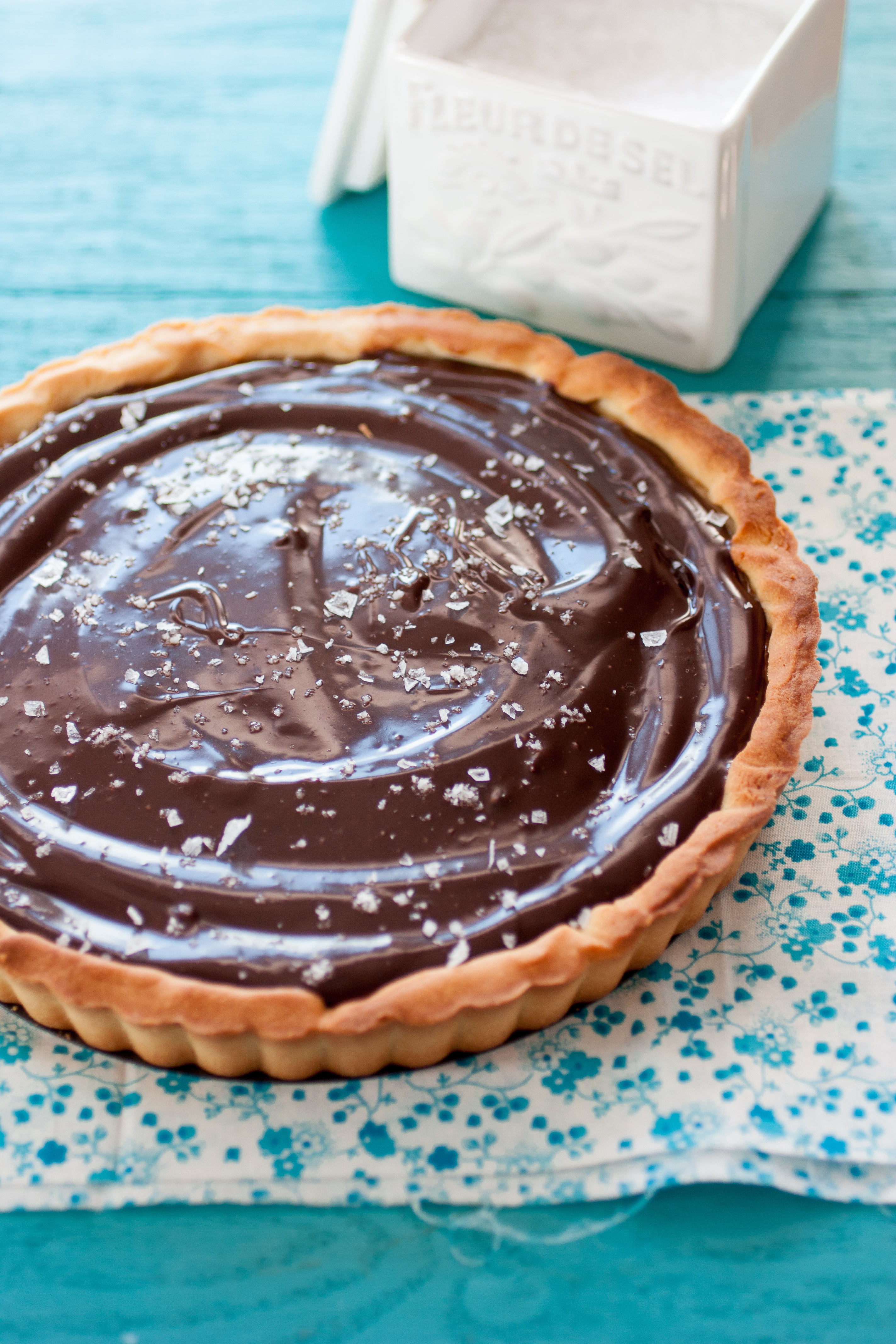 Salted Caramel and Chocolate Tart Recipe