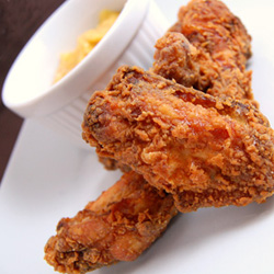 Sauceless Cajun Chicken Wings