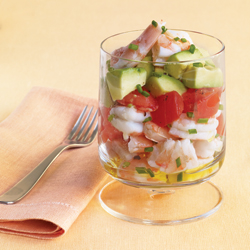 Shrimp Salad with Lemon Olive Oil