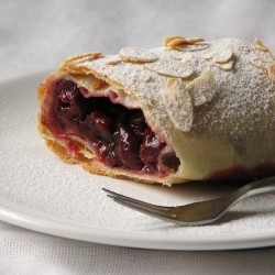Sour Cherry Strudel Recipe