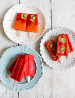 Strawberry Popsicles Recipe