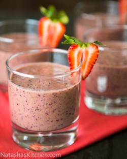Strawberry Spinach Smoothies Recipe
