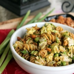 Thai Peanut Pasta Salad Recipe