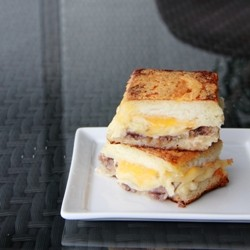 Anchovy Spiced Gouda Grilled Cheese Sandwich Recipe