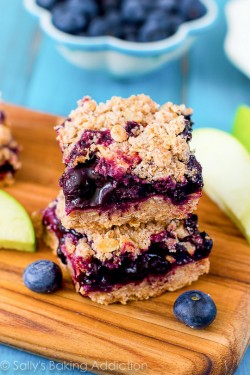 Apple Blueberry Pie Bars Recipe