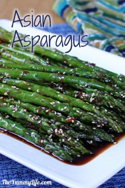 Asian Asparagus Recipe
