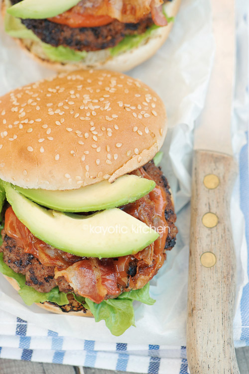 Avocado Bacon Burger Recipe