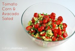 Avocado Corn and Tomato Salsa Recipe
