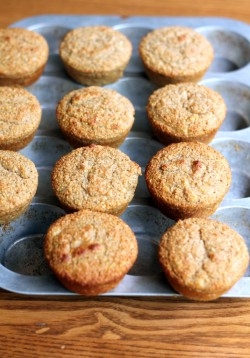 Banana Oat Protein Muffins Recipe