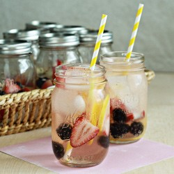 Berry Lemon White Sangria Recipe