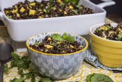 Black Quinoa Salad with Mango and Avocado Recipe
