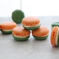 Cardamom Cream Cheese Filled Macarons Recipe