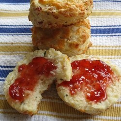 Cheddar Cheese and Tarragon Biscuits