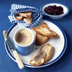 Chicken Pate with French Bread Toasts