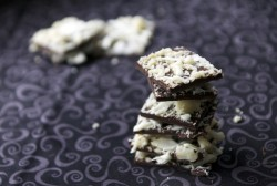 Coconut Macadamia Dark Chocolate Bark Recipe