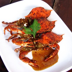 Crab in Garlic and Hoisin Sauce