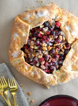 Cranberry Galette Recipe
