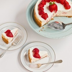 Figure Friendly Strawberry Cheesecake Recipe